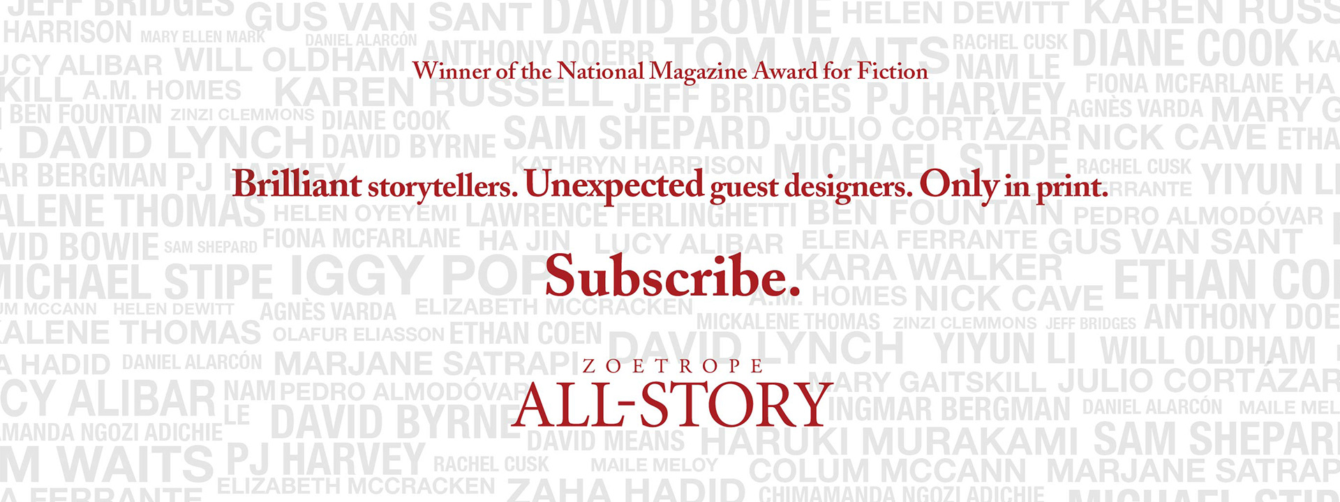 Subscribe to all-story