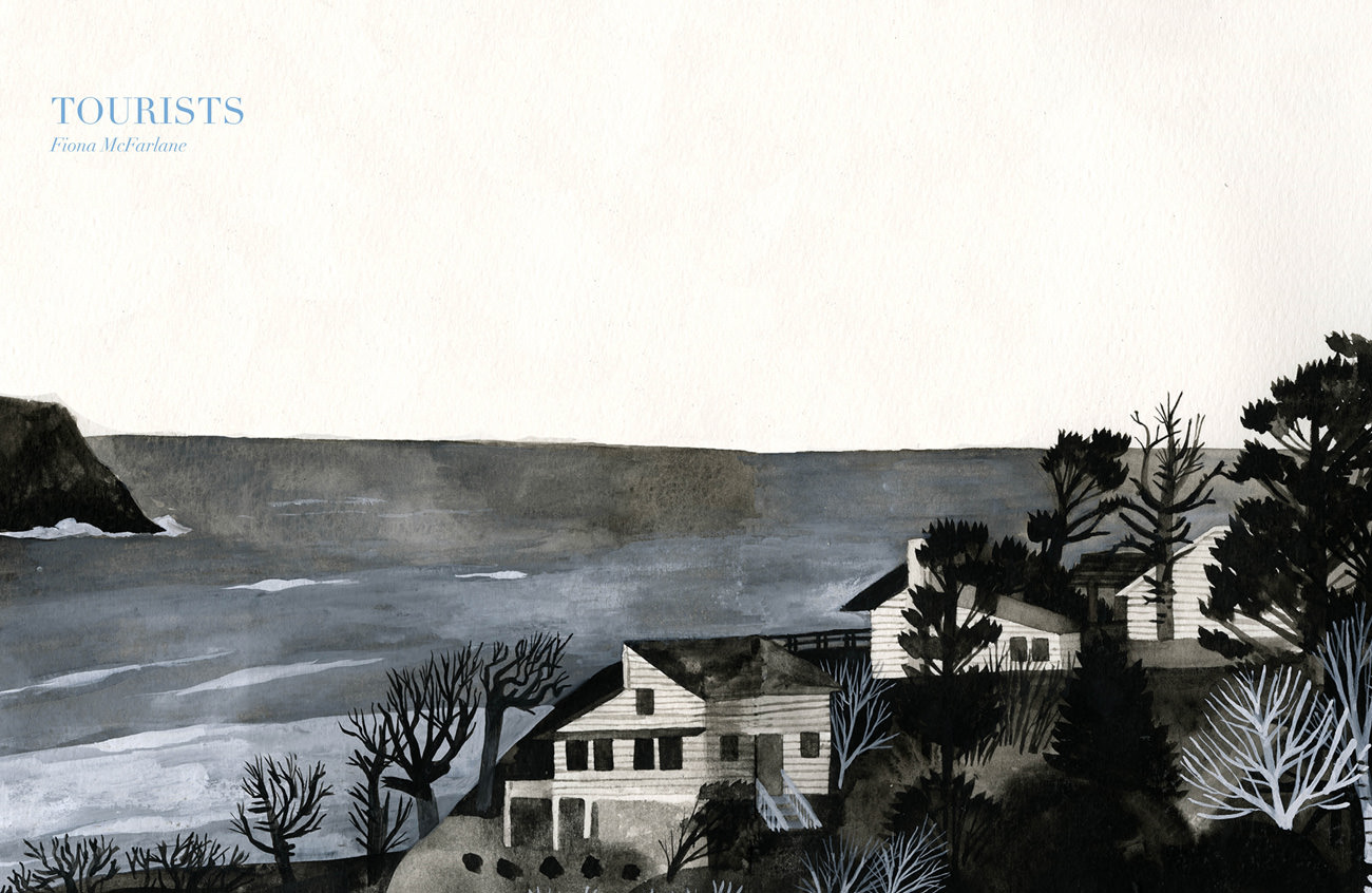 Story artwork by guest designer Carson  Ellis