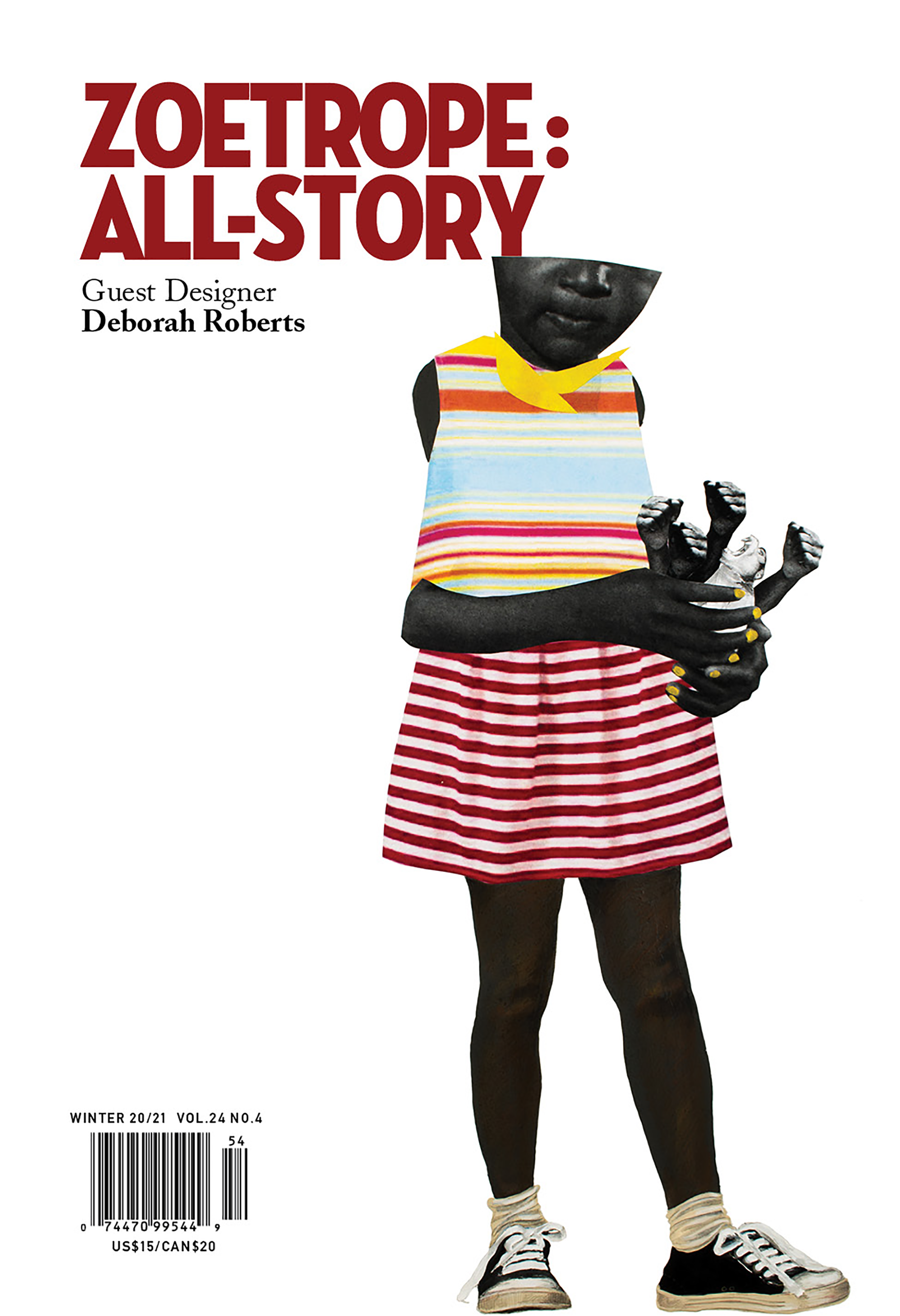Full Cover for current issue designed by Deborah  Roberts