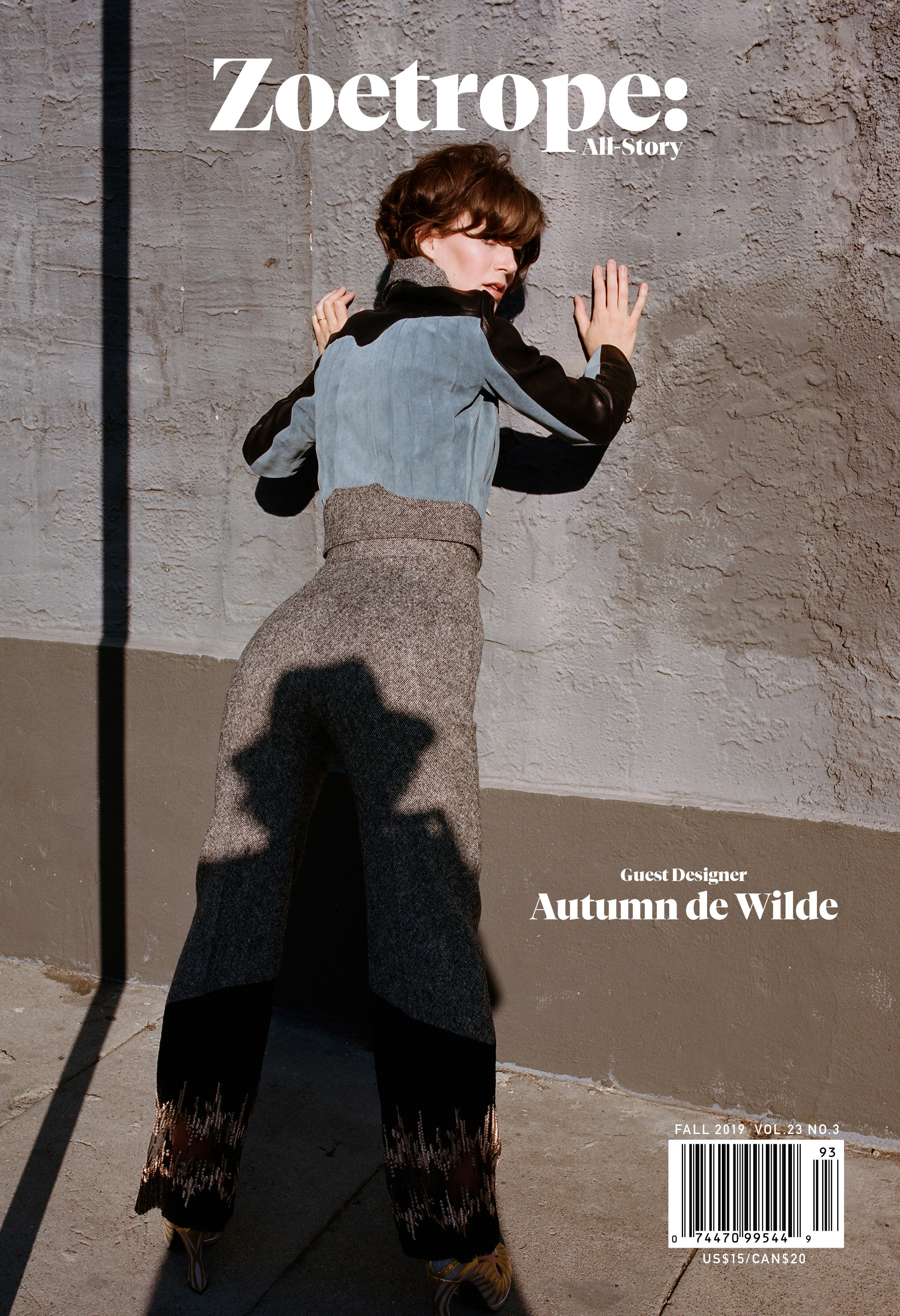 Full Cover for current issue designed by Autumn de Wilde