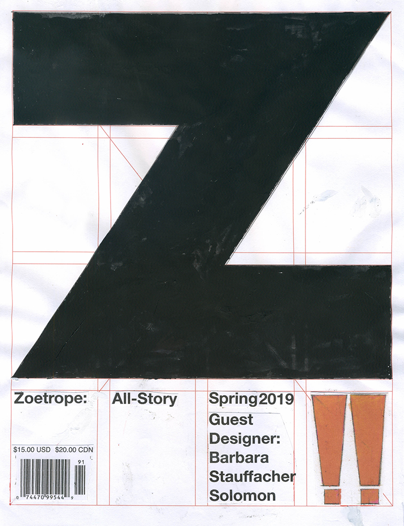 Full Cover for current issue designed by Barbara  Stauffacher  Solomon